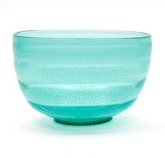 Found on www.botterweg.com - Sea-green glass Serica bowl No.34 with crackle design A.D.Copier 1931 executed by Glasfabriek Leerdam / the Netherlands