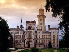 Castelo Hluboka - República Tcheca