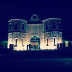 Fremantle Prison a great tour both day or a creepy torchlight visit at night...Western Australia