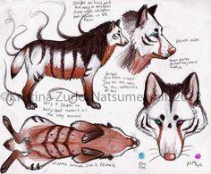 Natsumewolf by NatsumeWolf.deviantart.com on @DeviantArt