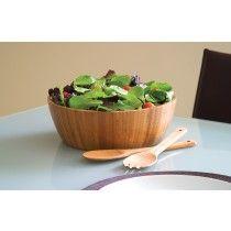 Lipper International 8208-3 Bamboo 3Pc Salad Set
