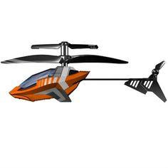 I/R Air Striker is een twee kanaals helikopter van Silverlit is een voorzien van stoere kleuren. De helikopter Silverlit I/R Air Striker heeft een stevige kunststof body en propeller!