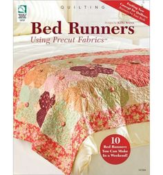 Teaching how to sew decorative and functional bedrunners, this quilter's resource is specifically designed for projects using pre-cut fabrics, such as fat quarters, charm squares, Layer Cakes(TM), Jelly Rolls(TM), and Turnovers(TM). This guide takes first-time bedrunner makers through the steps of measuring, creating, and personalizing a bedrunner. Featuring 10 projects, the patterns in this colle...