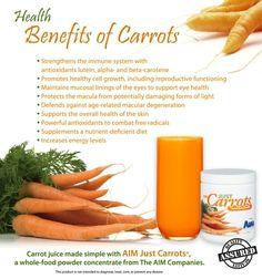 Health Benefits of Carrots: