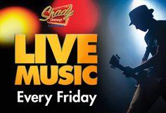 Enjoy free live music every Friday night at Shady Grove Lounge inside Silverton Casino, Las Vegas.