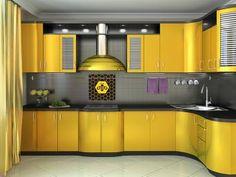 Internal Home Design: honey bee kitchen decor Kitchen Room Design, Kitchen Themes, Kitchen Cabinet Design, Modern Kitchen Design, Home Decor Kitchen, Interior Design Kitchen, Home Design, Kitchen Cabinets, Beautiful Kitchen Designs