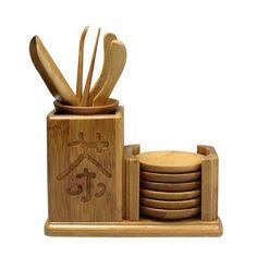 Bamboo Tea Needles KungFu Tea Ceremony Vintage Chinese Handmade Accessory 13