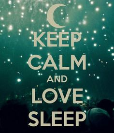 There's no activity I love more in the whole wide world than SLEEP!