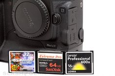 High Performance CompactFlash Benchmarks on Canon 1D Mark IV