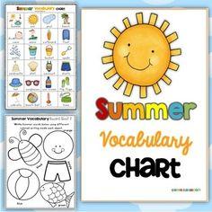 Summer Vocabulary Ch