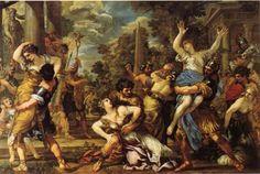 L'enlèvement des Sabines - Pierre de Cortone