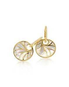 Venus Mother-of-Pearl & Diamond Earrings