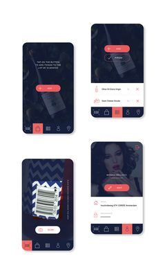 Shopping app for iOS on Behance