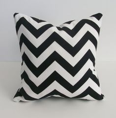 Chevron toss pillows