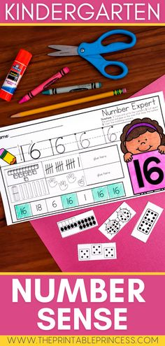 These no-prep number books are fun and interactive way for students practice showing how numbers can be represented in various forms. The books were designed to help Kindergarten and first grade students master numbers 0-20. Build your students' number sense with this great books!