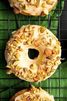 Coconut Orange Pistachio Donuts