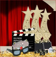 50th birthday star theme | Hollywood Theme Party Supplies - Hollywood Party Decorations - Party ...