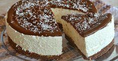 Recept na kokosový cheesecake