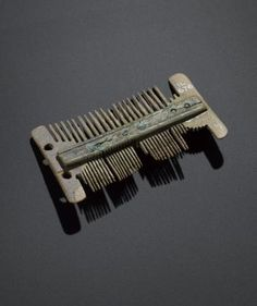 Comb of bone from Freswick Links, Caithness, Viking period, 800 - 1100 AD
