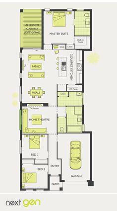 McDonald Jones Homes - Beaumont Collection - Floorplan #Floorplans #luxuryhome
