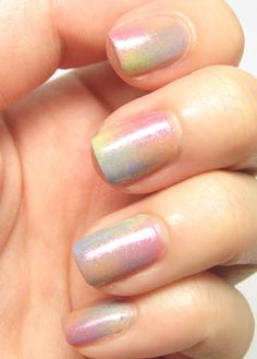 Multi-coloured Pastel Gradient.