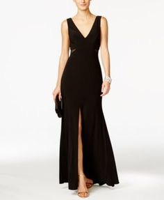 Xscape Illusion Flyaway Gown - Dresses - Women - Macy's