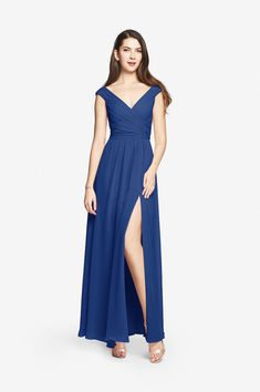Elizabeth bridesmaid gown   David Tutera for Gather and Gown