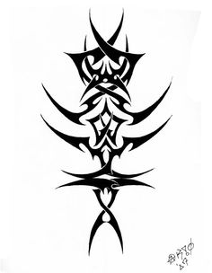 Spinal Tribal 3 by jakofheartz5870 on deviantART