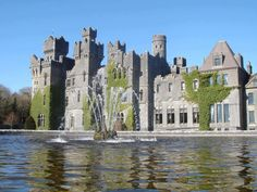 Ashford Castle, Co. Mayo, Ireland   Photo by: Peter Wortmann