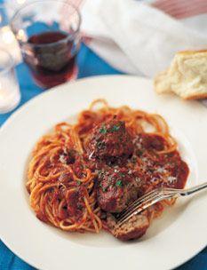 Barefoot Contessa Spaghetti and Meatballs