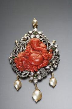 Ganesha Temple jewellery from Amrapali