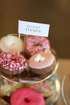 Wedding donuts!    sweet-treats