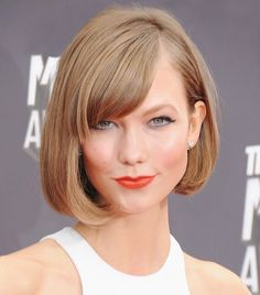 Ask a Hairstylist: What Are the Best Cuts for Stick-Straight Hair? via @ByrdieBeauty   blunt a-line bob