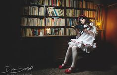 Anime: Shiki (Anime) Character: Kirishiki Sunako Cosplayer: Tawii Szöllösy #sunako #kirishiki #cosplay #shiki #tawii #szllsy