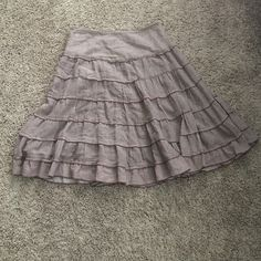 Adorable Free People skirt Sweet skirt in good used condition. Enjoy;) Free People Skirts
