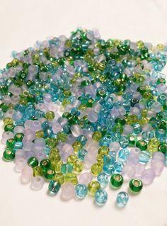 Seed Beads Mix Size 6 Seed Beads peyote by VickysJewelrySupply