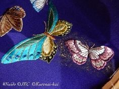 I'm proud to share one embroiderer's work and gold leaf from the UK taught in 2019. It was before the Pandemic and we were so blessed to be able to collaborate side by side with wonderful people and facilities. I truly miss the travel! I M Proud, Japanese Embroidery, Gold Leaf, Blessed, Teaching, People, Travel, Viajes, Destinations
