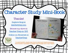 Character Study Mini-Book