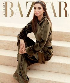 Queen Rania gave an interview to Harper's Bazaar Arabia
