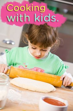 Fun ideas for cooking with kids.