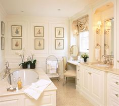 The Enchanted Home: Designer spotlight: Toni Gallagher   Elegant and serene.
