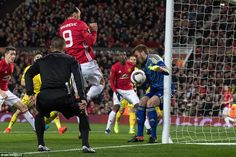 Ibrahimovic then followed up Rojo's header near the byline, striking the outside of Rostov's post from close range