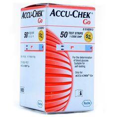 Accu Chek Go Test Strips 50 Strip Buy Online at lowest price in India: BigChemist.com