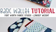 Ladies Basic Wallet - Free Sewing Tutorial + PDF Pattern
