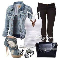#tidebuy #denim #jacket #outwear  $ 18