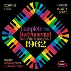 Various - Complete Pop Instrumental Hits Of The Sixties, Volume 3: 1962