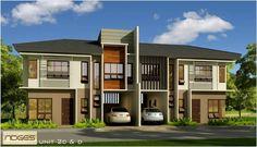 Model house for duplex