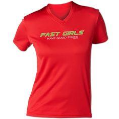 True story! | Fast girls have good times tech tee