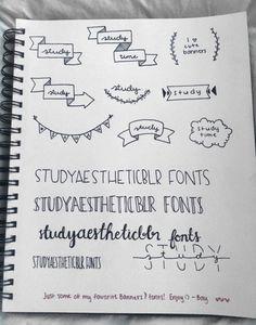 studyblr banners | Tumblr