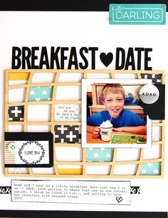 Breakfast Date  by MandieLou at @studio_calico